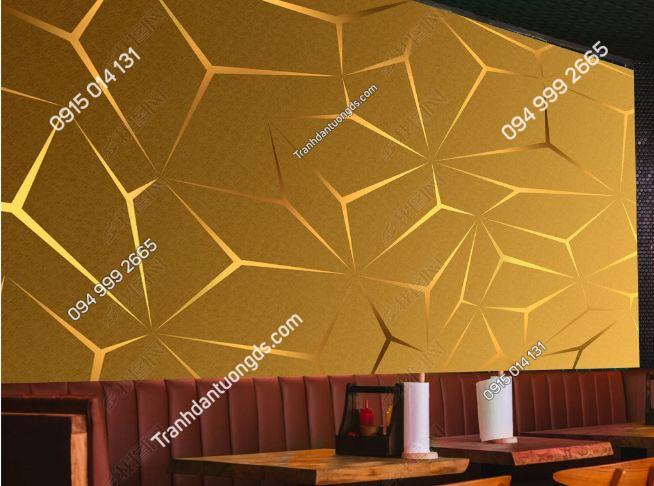 Tranh tường karaoke họa tiết hình học DS_25111672