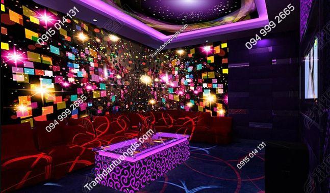 Tranh tường karaoke ô sáng DS_13340392
