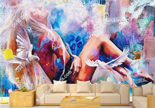 Tranh tường sexy girl DS_19112751