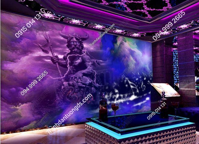 Tranh vị thần cho quán bar karaoke DS_19155662