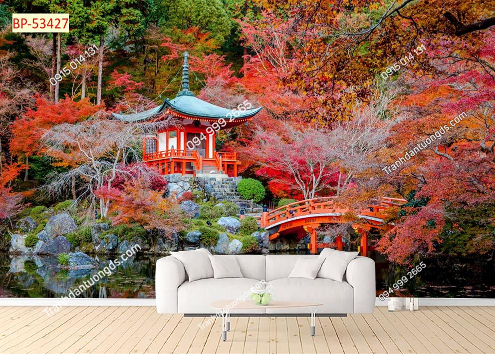 Tranh vườn Nhật Bản 53427