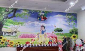 Tuyển tập tranh dán tường phòng ngủ cho bé gái đẹp nhất