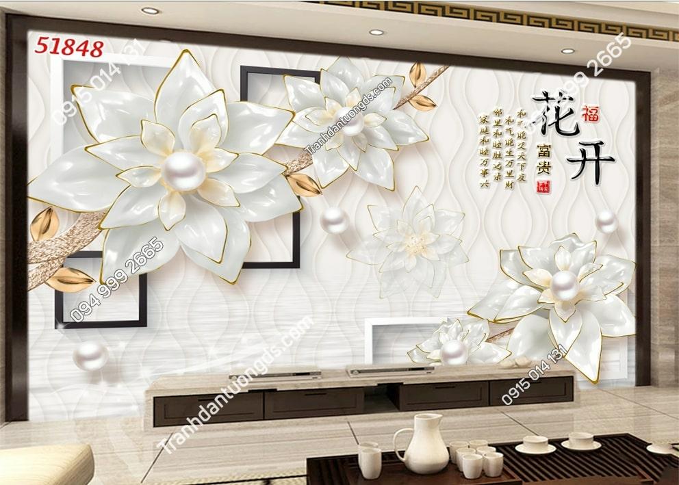TRanh hoa giả ngọc và ngọc trai 51848