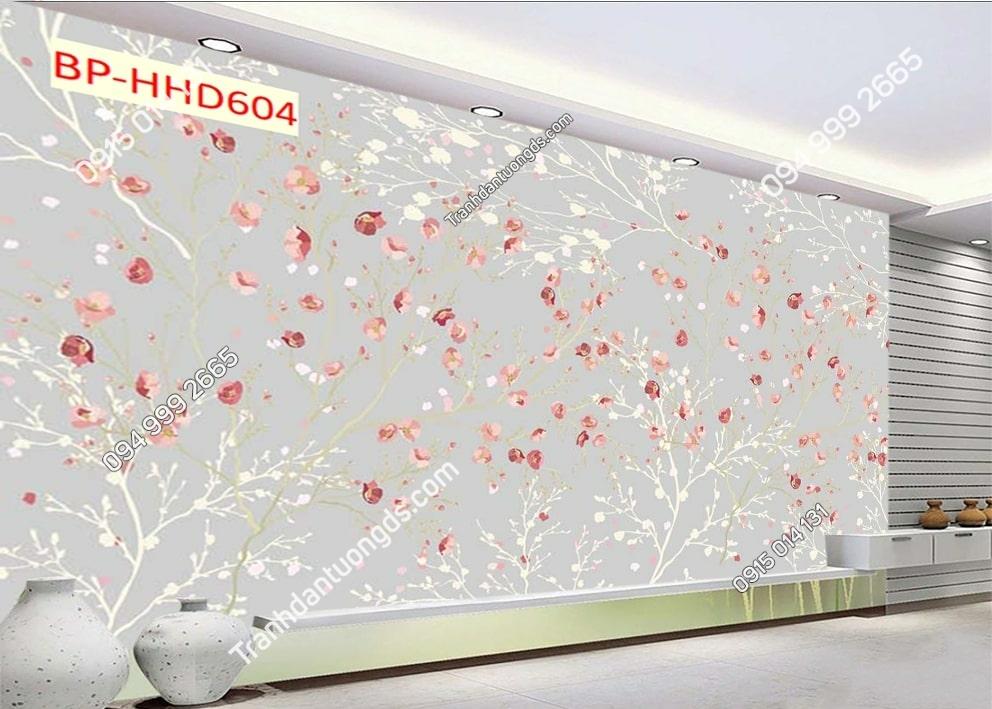 Tranh 3D hoa hồng HHD604