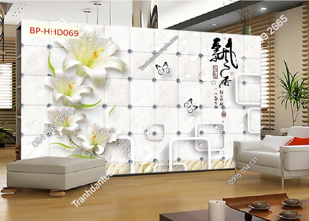 Tranh cành hoa hiện đại HHD069