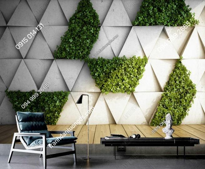 Tranh dán cỏ tường 3D DS_18839988