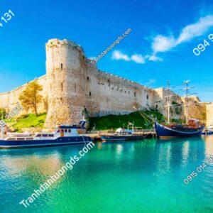 Tranh dán tường Lâu đài Kyrenia ở Bắc Síp 1012532899