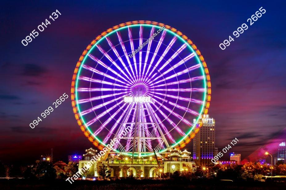 Tranh dán tường Vòng quay Sun Wheel ở Đà Nẵng 789911887