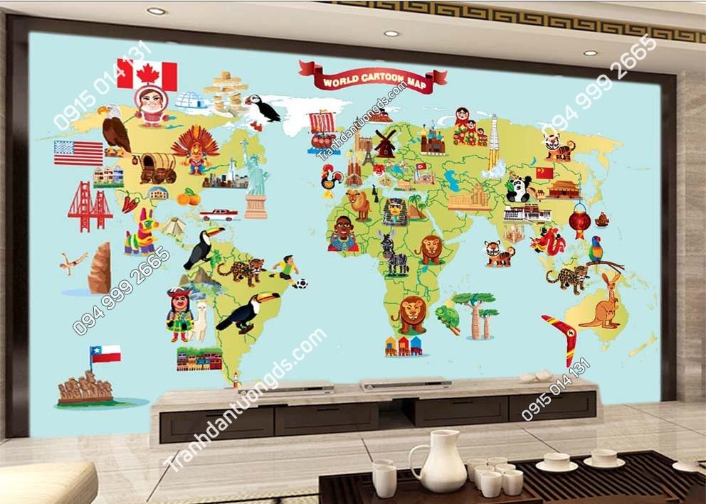 Tranh-dan-tuong-ban-do-world-cartoon-map-0040
