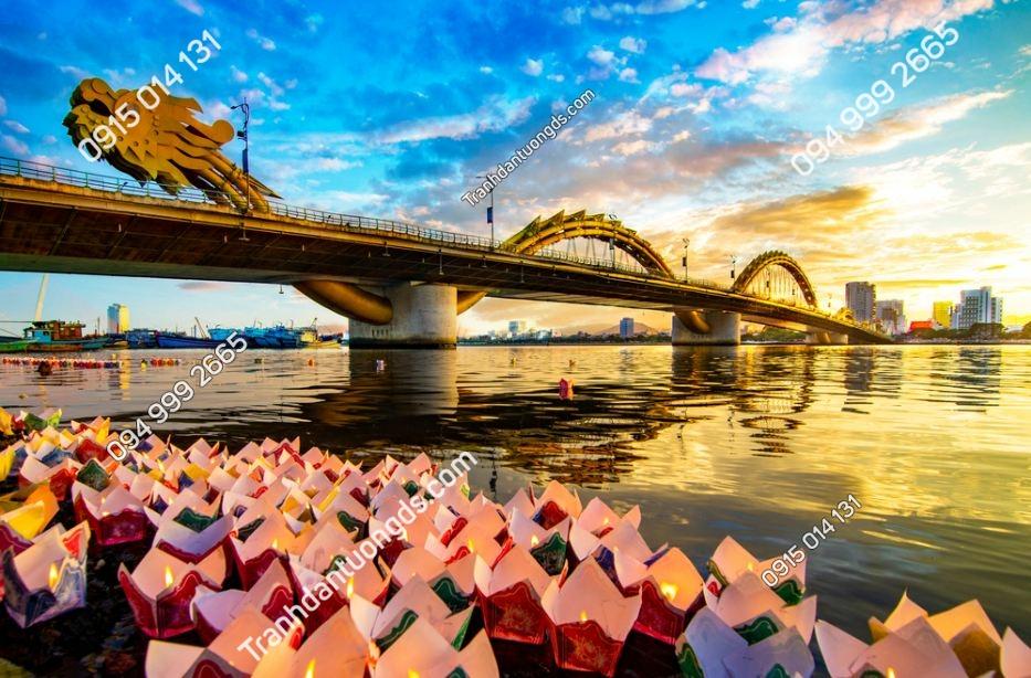 Tranh dán tường cầu rồng ĐÀ năng đẹp 1777820432