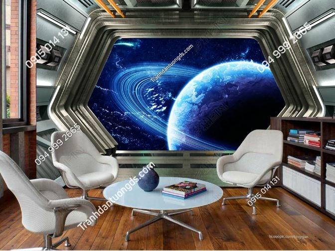 Tranh dán tường không gian vũ trụ_DS17141152
