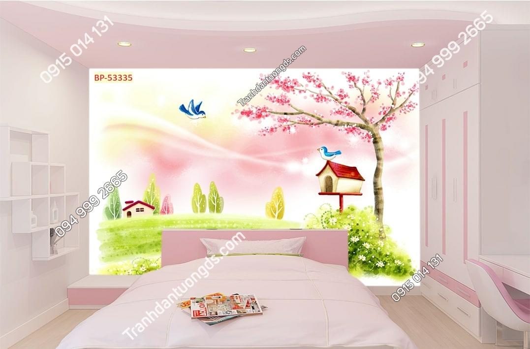 Tranh dán tường phòng trẻ em 53335