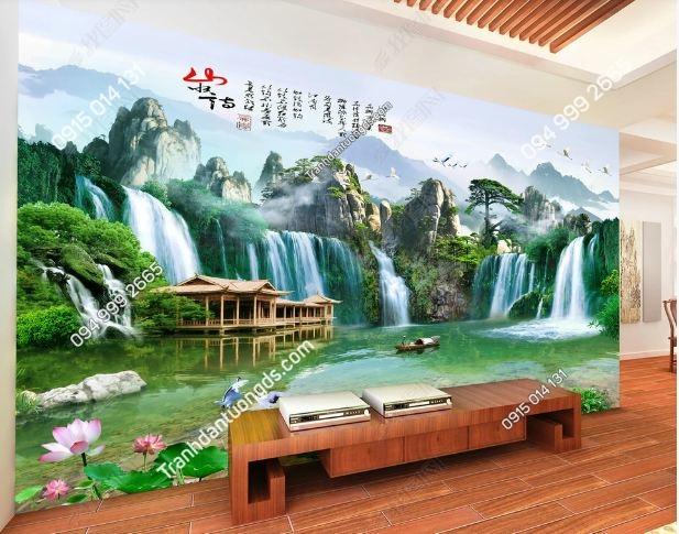 Tranh dán tường sơn thủy khổ dài DS_15179284