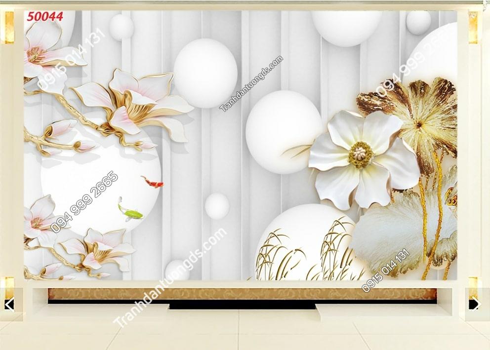 Tranh hoa 3D hiện đại 50044