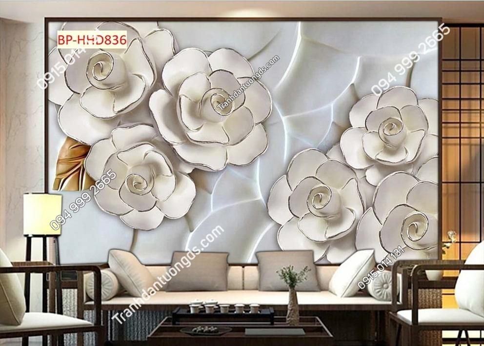Tranh hoa dán tường HHD836