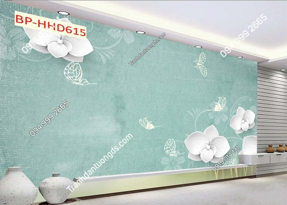 Tranh hoa đơn giản HHD615