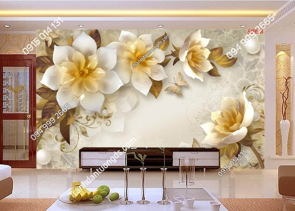 Tranh hoa giả ngọc 50338