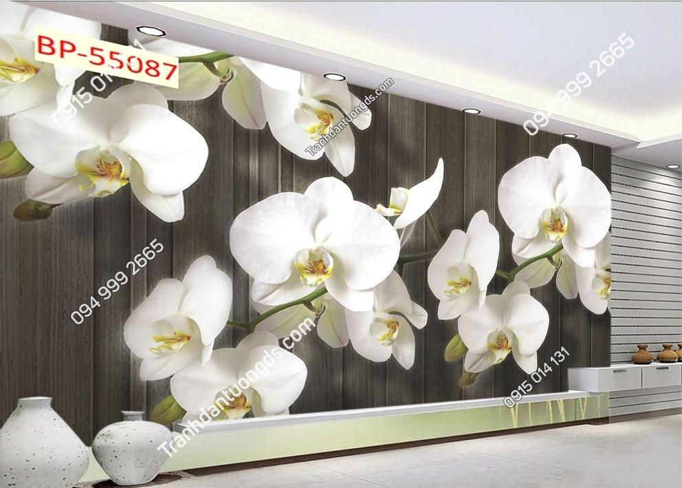 Tranh hoa hiện đại 3D 55087
