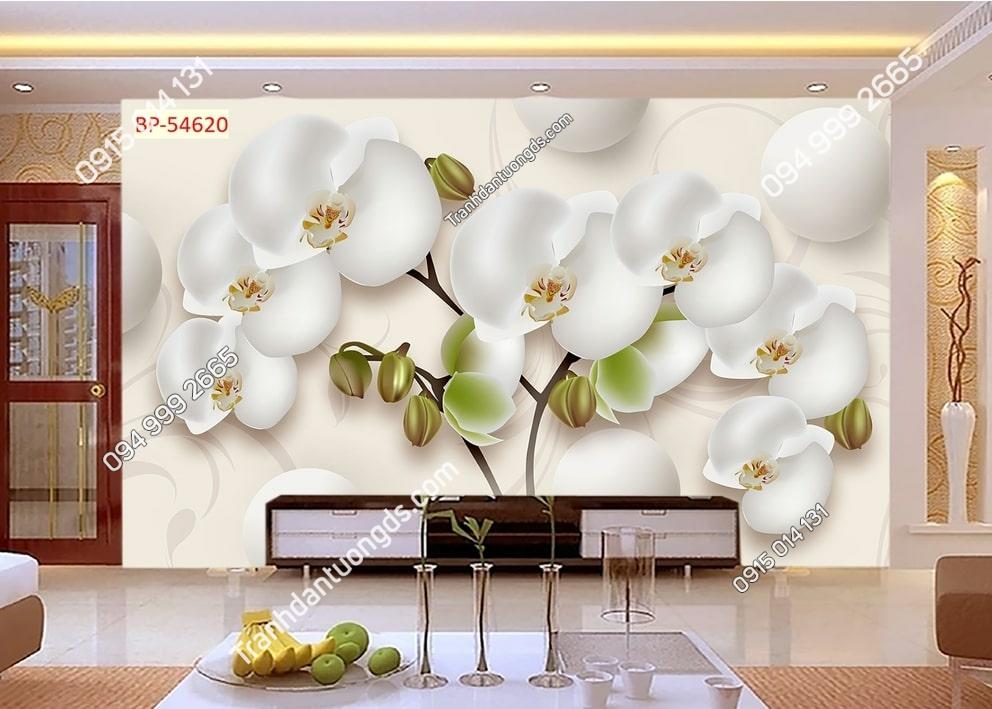Tranh hoa phong lan 3D 54620