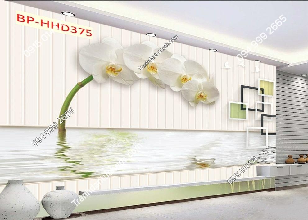Tranh hoa và nước HHD375