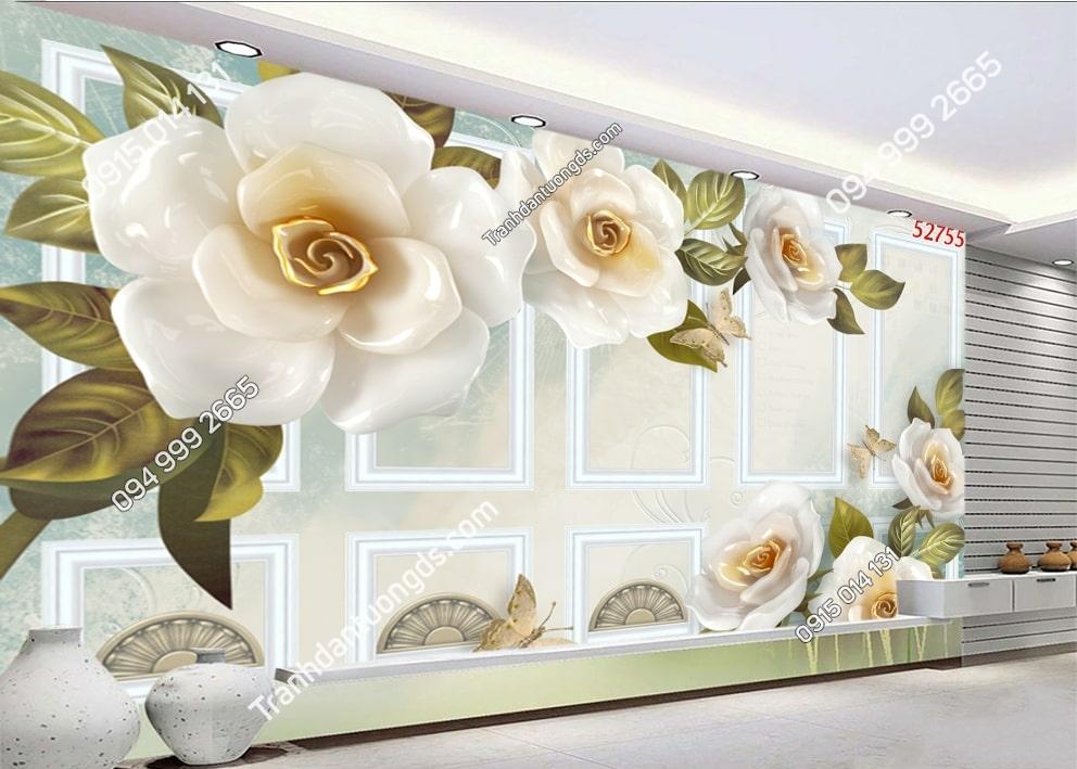 Tranh hoa và ô hiện đại 52755