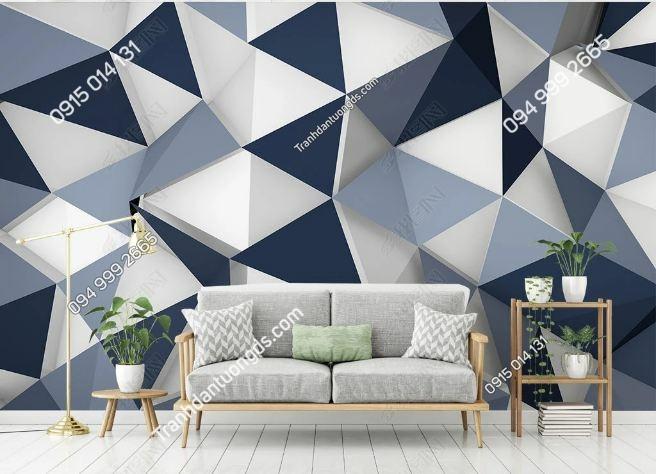 Tranh khối tam giác 3D DS_17052196