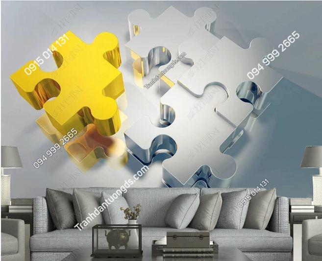 Tranh khối xếp hình 3D DS_18373183