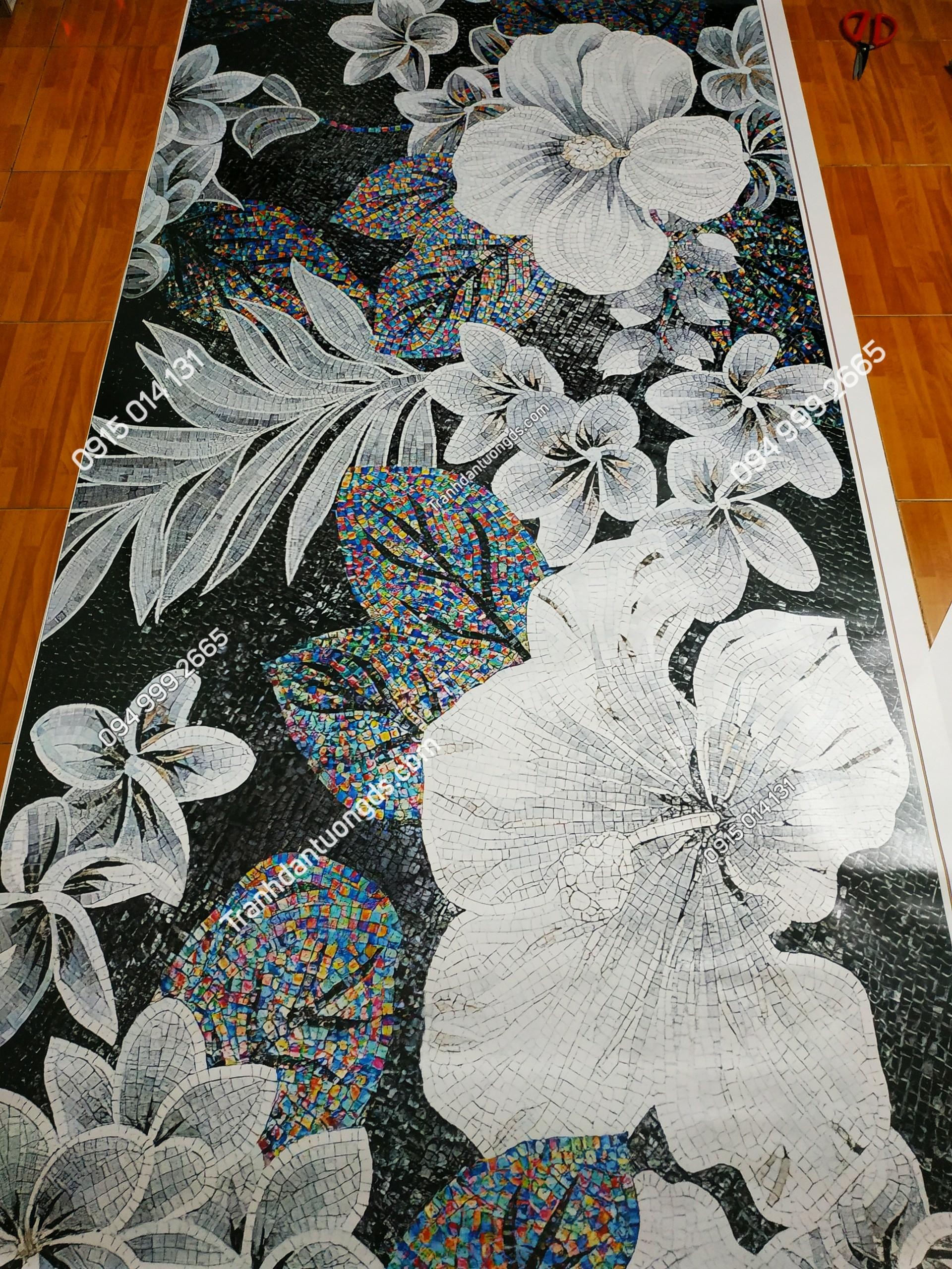 Tranh nghệ thuật dán tường phòng ngủ