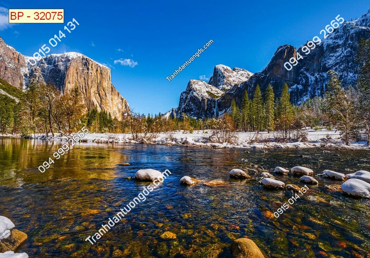 Tranh thiên nhiên phong cảnh Châu Âu