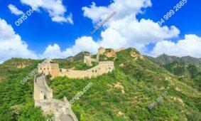 21 Mẫu Tranh Dán Tường Vạn Lý Trường Thành Đẹp Xuất Sắc