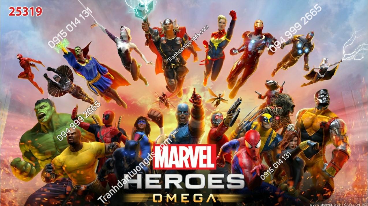 Tranh tường các siêu anh hùng avenger - 25319