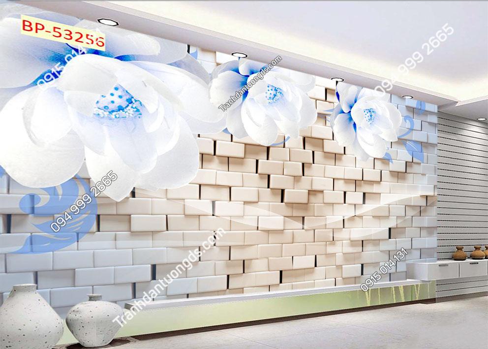 Tranh tường hoa 3D hiện đại 53256