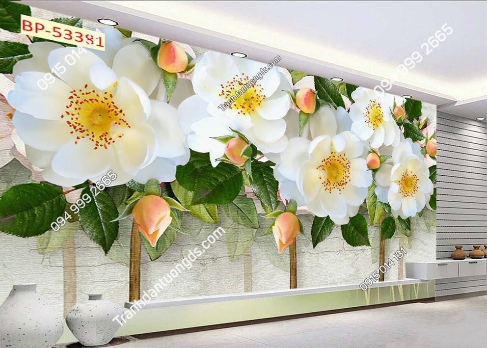 Tranh tường hoa đẹp 53381