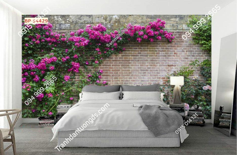 Tranh tường hoa như thật 54429