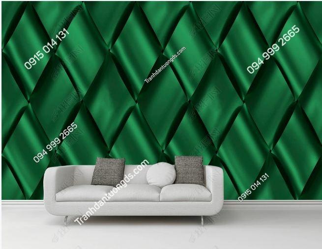 Tranh tường họa tiết vải đan 3D DS_17565353