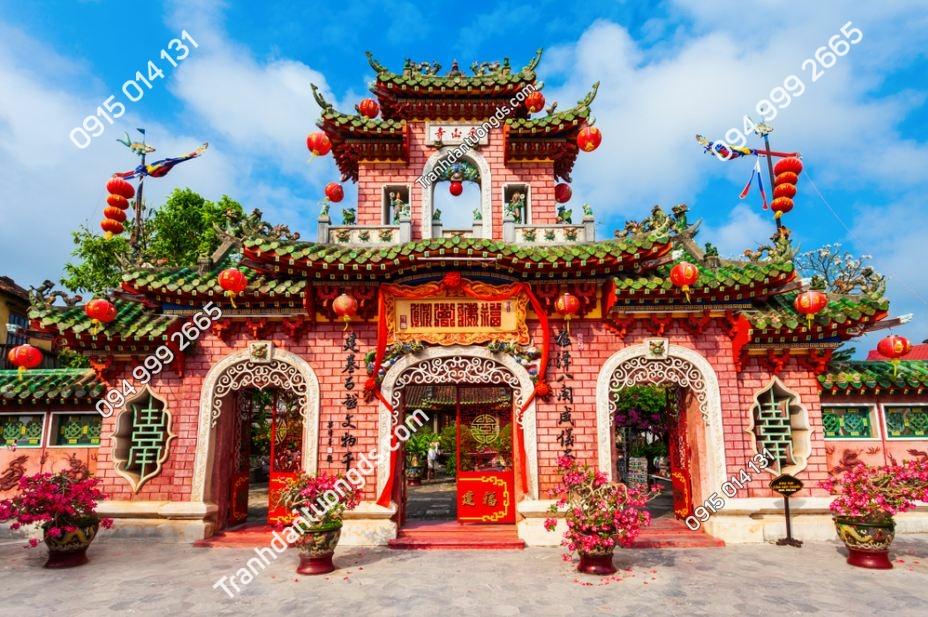 Tranh tường hội quán Phúc Kiến Hội An 1101234365