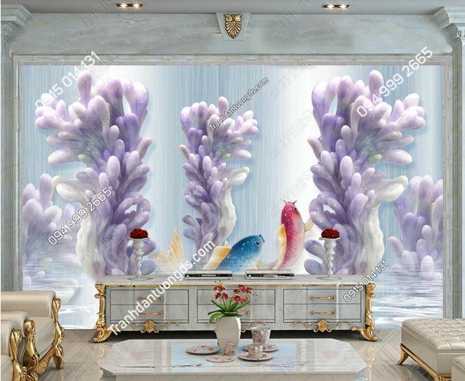 Tranh tường san hô 3D DS_20329055
