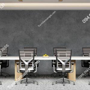 Tranh dán tường giả xi măng xám dán văn phòng công ty 1562100250