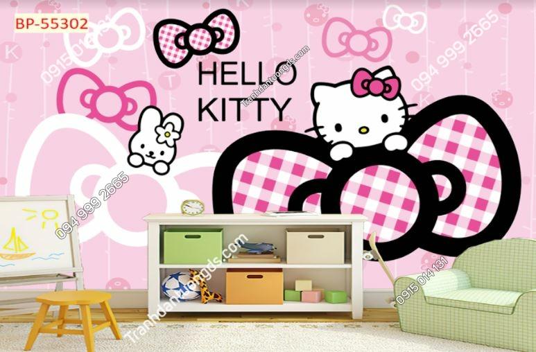 Tranh dán tường hello kitty 55302