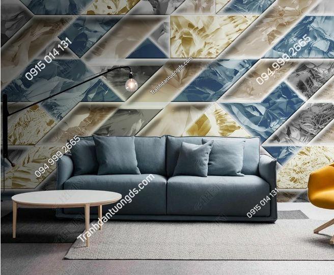 Tranh trừu tượng dán tường phòng khách weili_25408363