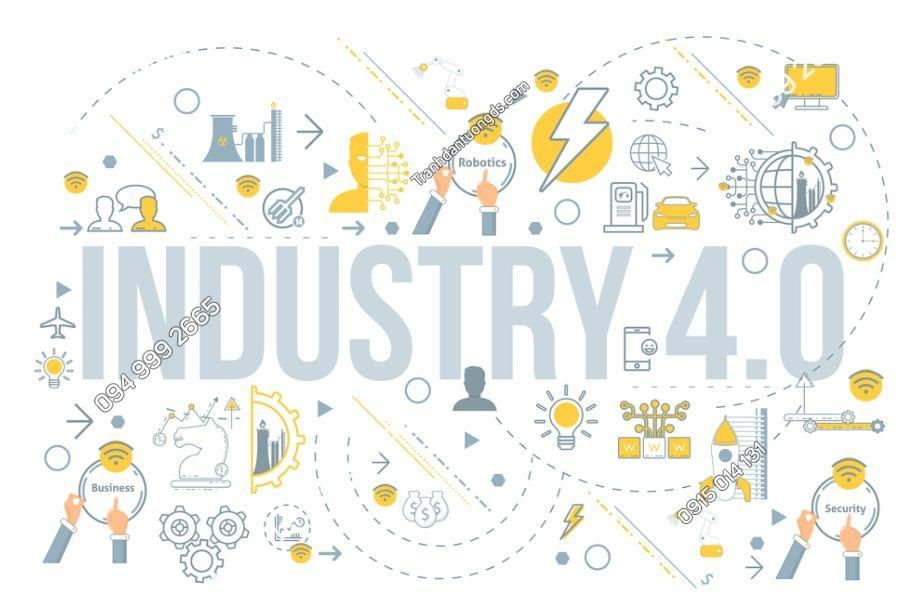 Tranh tường công nghệ 4.0 infographics 635529716