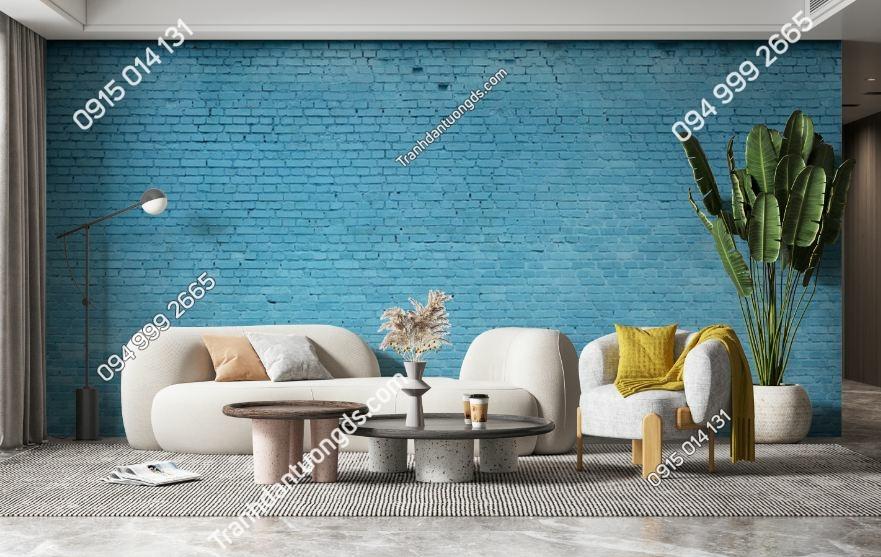 Tranh tường giả gạch xanh 1215961906