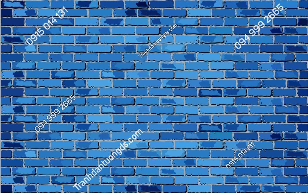 Tranh tường giả gạch xanh 1262529901