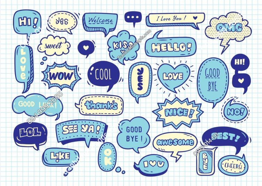 Tranh tường văn phòng kiểu infographics design 522397936